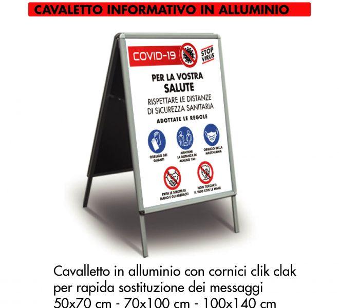 Cavalletto Covid-19 Stamperia Marconi Pordenone