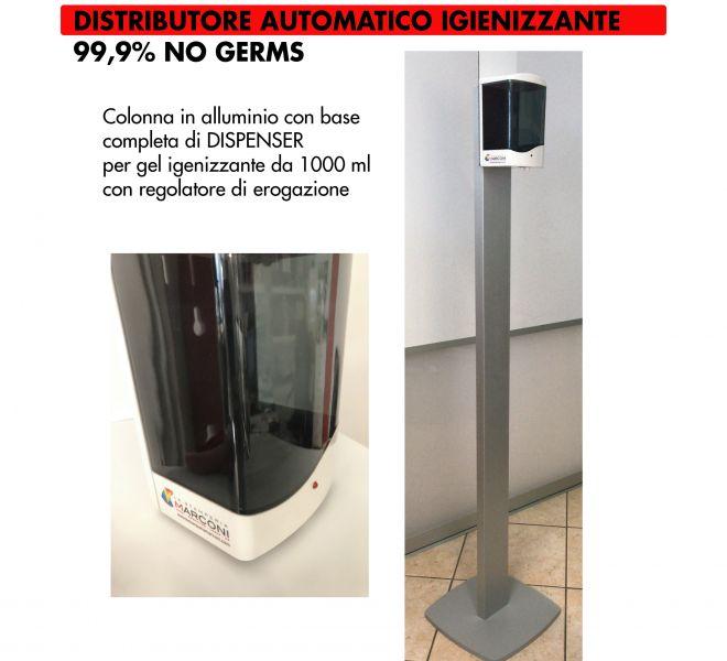 Distributore Gel Covid-19 Stamperia Marconi Pordenone
