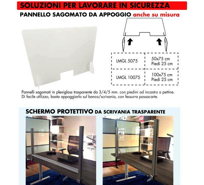 Plexi Covid-19 Stamperia Marconi Pordenone