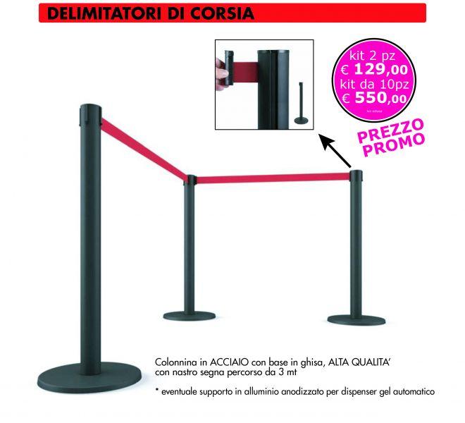 Segnapercorso Covid-19 Stamperia Marconi Pordenone