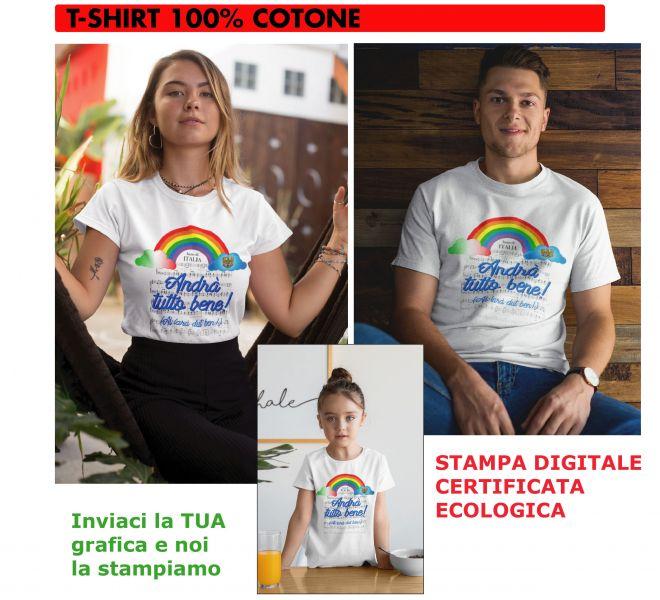 T-Shirt Covid-19 Stamperia Marconi Pordenone